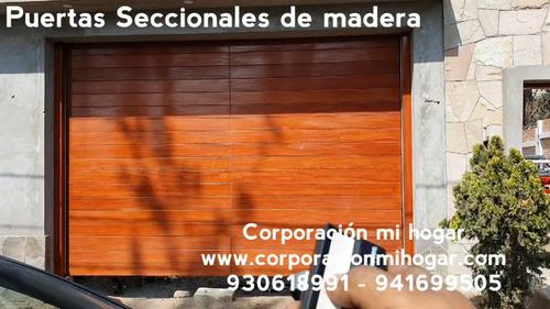 Portones De Madera, Portones Metalicos, Precios De Remate