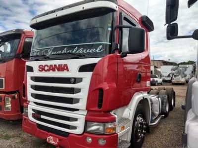 Scania G 470 A/09 6x4 Vermelha