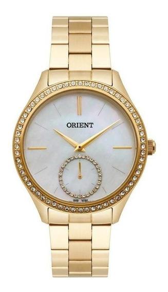 Relógio Feminino Orient Fgss0104-b1kx 36 Mm Aço Dourado