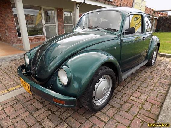 Volkswagen Escarabajo 1.6 Mt Sa