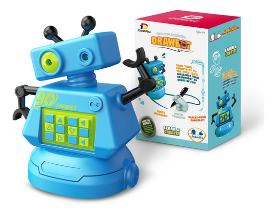 Robot Para Niños Con Rompecabezas De 70 Piezas