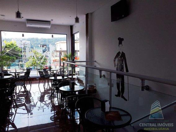 Linda Cafeteria No Canto Do Forte, Praia Grande - R$ 150.000,00 - V4469