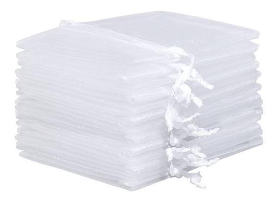 10 Saquinhos De Organza 30x40 Branco Para Maternidade - Roupas Do Bebê, Mala Maternidade, Frete Grátis Para Todo Brasil.