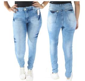 Kit 10 Calças Jeans Feminina C/lycra Roupa Feminina Atacado