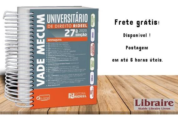 Vademecum Universitário 27 Ed. 2020 Rideel Primeiro Semestre