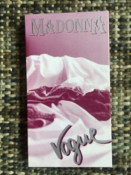 Madonna Vogue Box Cds Live Raro