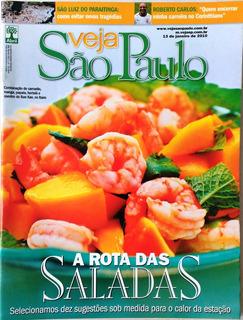 Revista Veja Sp / Saladas / São Luiz Paraitinga Enchente