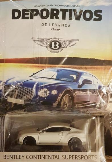 Coleccion Autos Deportivos De Leyenda N°8 Bentley Continenta