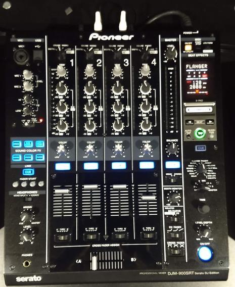 Mixer Pioneer Djm 900 Serato Semi-novo.