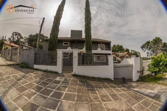 Casa Residencial Para Locação, Abranches, Curitiba. - Ca0073