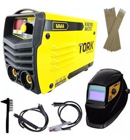 Máquina De Solda Inversor 180 Ah Eletrodo - Kab 180 Tork