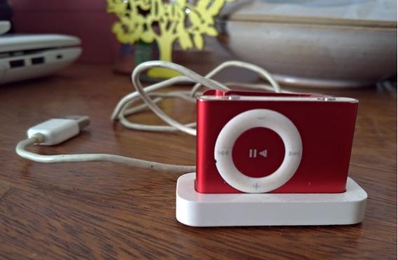 iPod Shuffle Vermelho