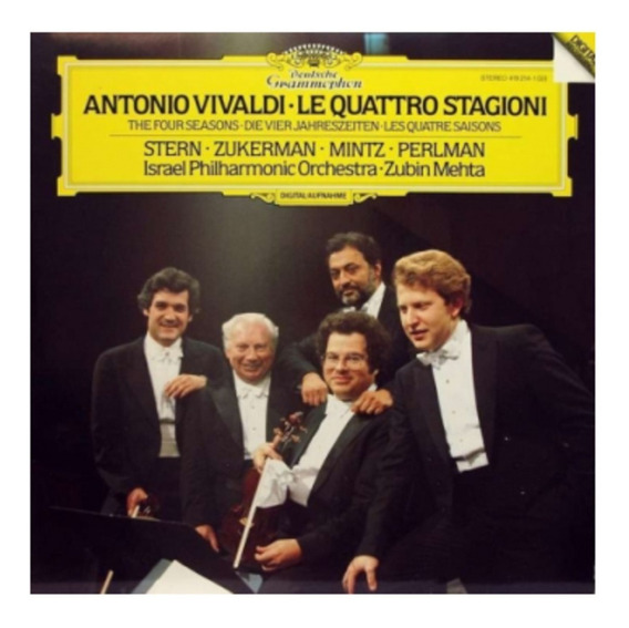 Cd Vivaldi/mehta/perlman - Le Quattro Stagioni (941575)