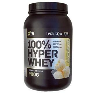 100% Hyper Whey 900g Sorvete De Creme