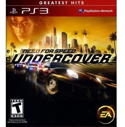 Need For Speed Undercover - Leia Descrição