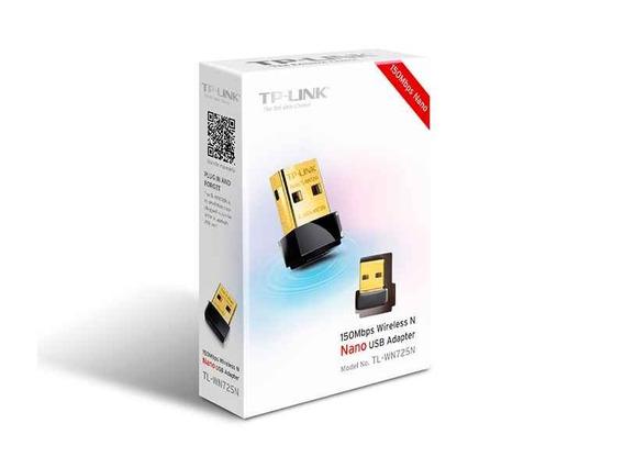 Adaptador Usb Nano Wifi N 150mbps Tp-link Tl-wn725n Noaweb