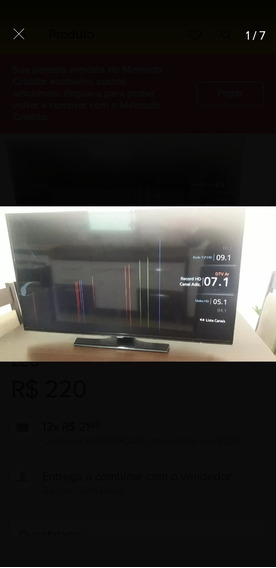 Tv Samsung Smart 40 Polegadas Tela Quebrada
