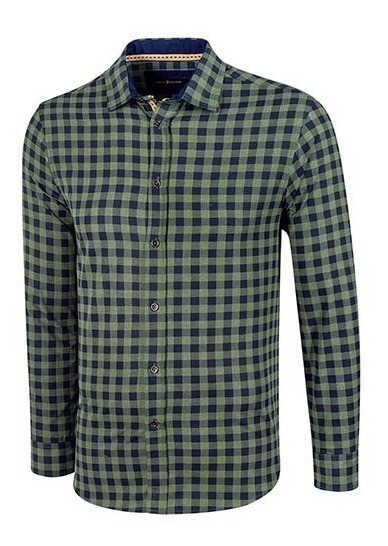 Camisa Polo Club Ca02867 Verde-marino Caballero Pv