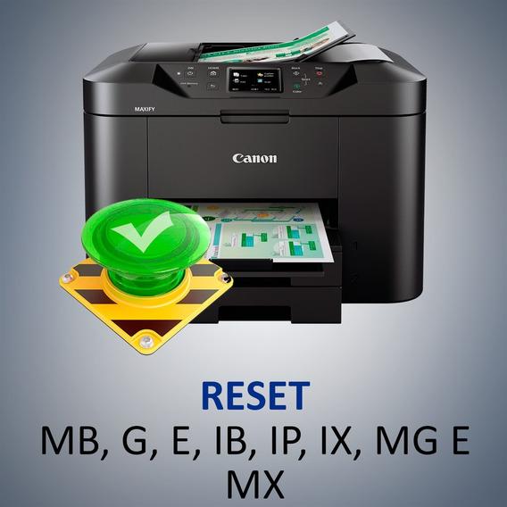Software Reset Geral Para Canon Mg3500 Mg3510 Mg3600 Mg3610