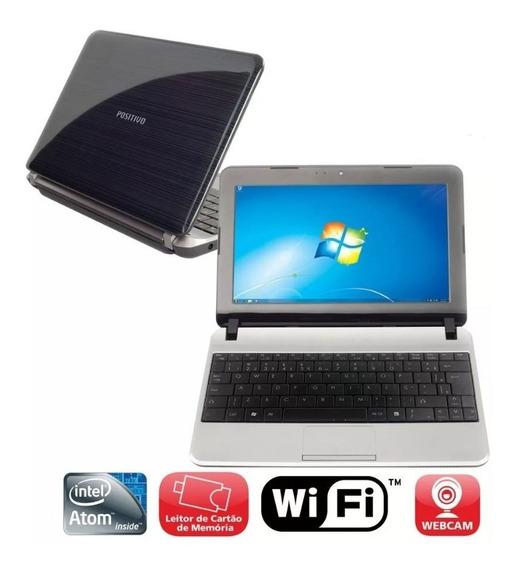 Netbook Mobo Prata Hd320gb, 1.6ghz / 2gb Wi-fi Bateria Ruim
