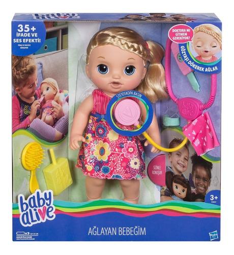 Boneca Baby Alive Doces Lagrimas Chora E Fala Hasbro C0957 Mercado Livre