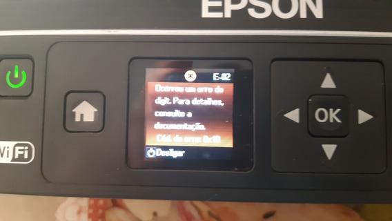 Multifuncional Epson Com Tanque De Tintas Modelo Et 2550