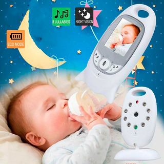 Cámara Inalámbrica Monitor De Bebés Visión Nocturna