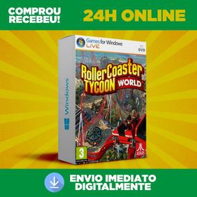 Rollercoaster Tycoon World + Dlc + Envio Na Hora 0 Segundo