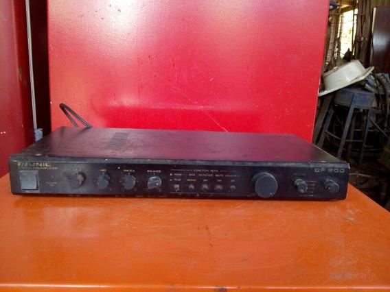 Antigo Amplificador Unic Modelo Cp 800 Funcionando
