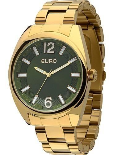 Relógio Feminino Euro Analógico Casual Eu2035xzj/4v Oferta