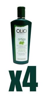 Pack De 4 Shampoo De Ortiga Olio 420 Ml