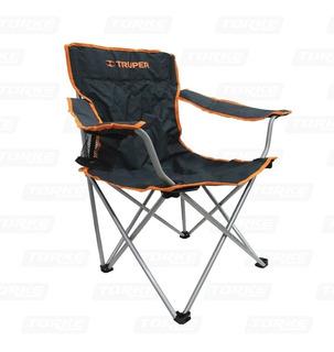 Silla Plegable Camping Playa Truper // Ferrenet
