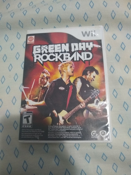 Green Day Rockband Wii Original Americano