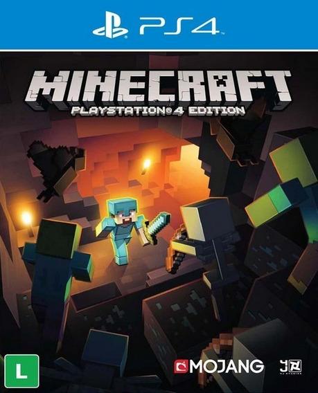 Minecraft P/ps4 Em Mídia Digital