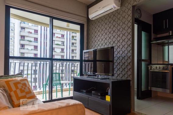 Apartamento Para Aluguel - Jardim Paulista, 1 Quarto, 50 - 893017582