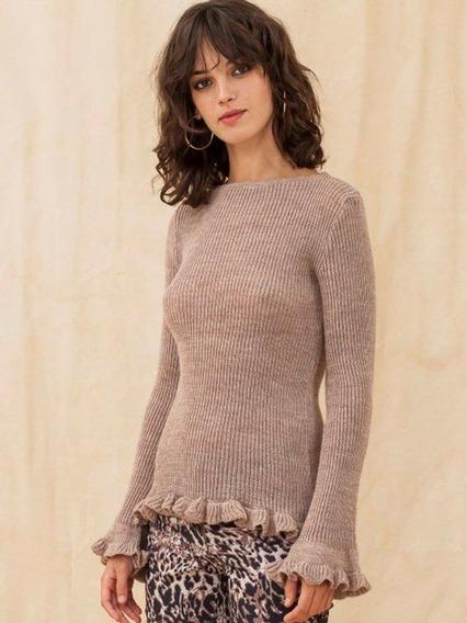 Sweater Tejido Diseño