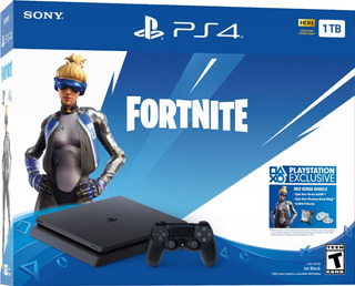 Consola Sony Ps4 Fortnite Bundle Control Inalambrico