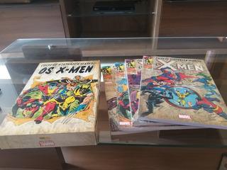 Hq Coleção Histórica Marvel - X Men 1 Ao 4