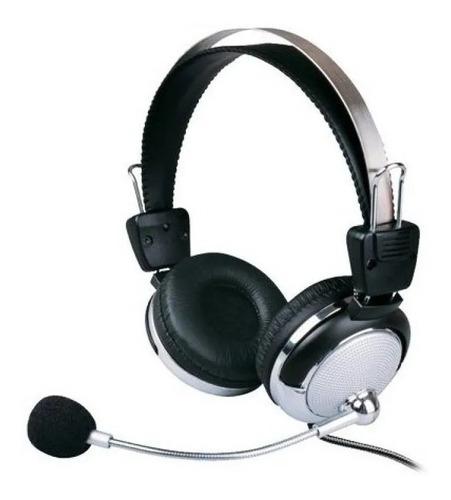 Fone Ouvido Stereo Com Microfone Pc Lan House Headphone