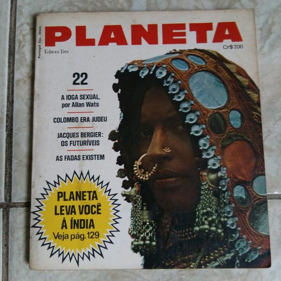 Revista Planeta 22 Jun/74 A Ioga Sexual Fadas Existem B