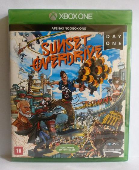 Sunset Overdrive Jogo Xbox One Lacrado Novo Midia Fisica