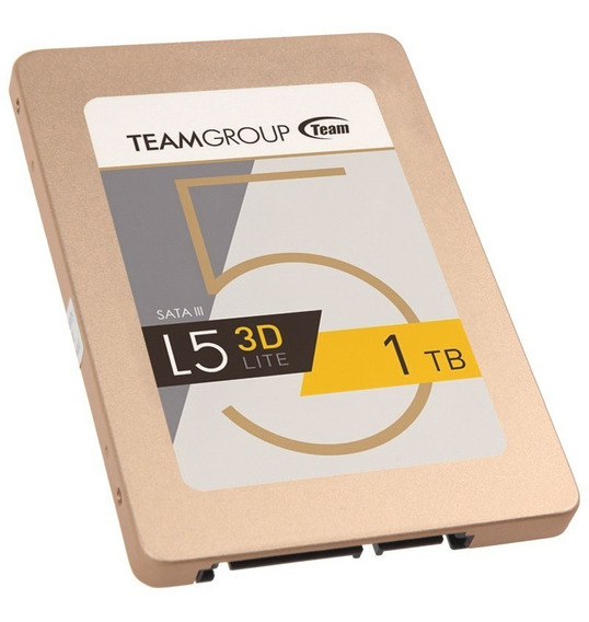 Hd Ssd Team Group 2.5` Sata3 1tb L5 T253td001t3c101