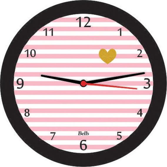 Relógio De Parede - Modelo Coração - Amor - Decoração