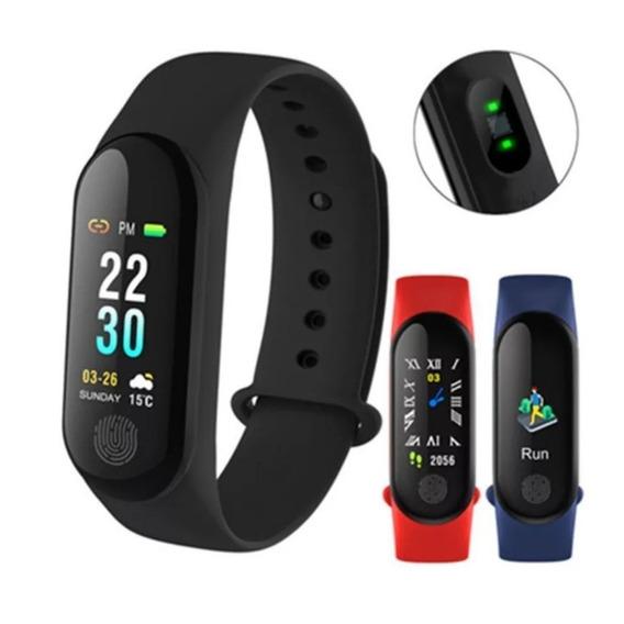 Relógio Inteligente M3 Smart Pulso Cardíaco/corrida/pressão
