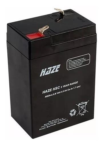 Bateria First Power 6v 4.5ah/20hr Seladas Com Garantia