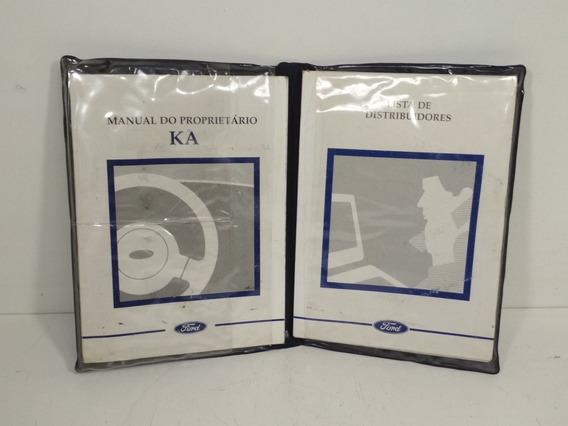 Manual Proprietário Lista Distribuidores Ford Ka 98 99 2000