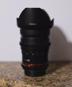 Lente Rokinon 35mm T1.5 Cine ( Preço Mínimo R$ 1.800)