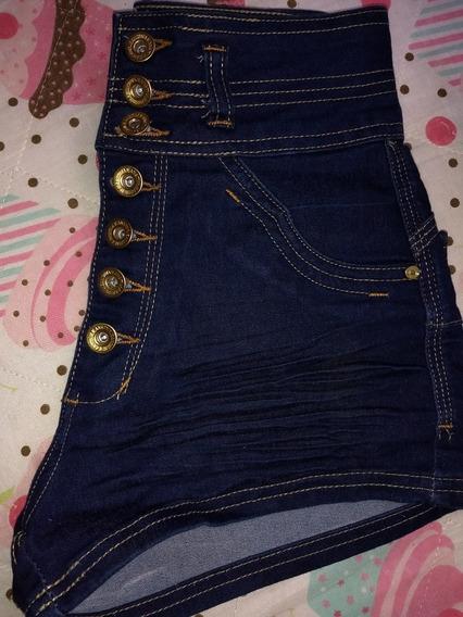 Shortinho Jeans Cós Alto