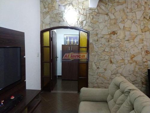 Sobrado Com 3 Dormitórios Para Alugar, 280 M² - Vila Galvão - Guarulhos/sp - Ai19437