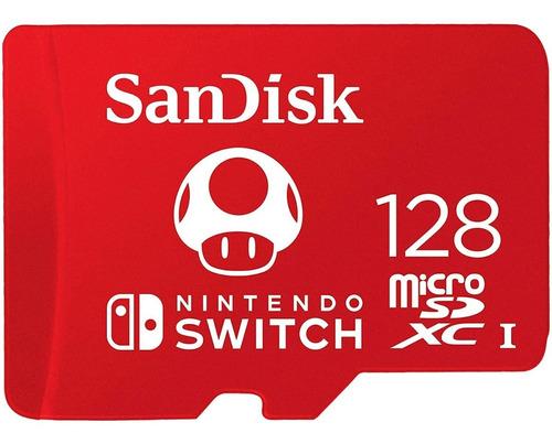 Memoria Para Nintendo Switch Micro Sd 128gb Sandisk Tienda Oficial Sandisk